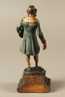 2016.184.540 back Painted wooden figure of an Austrian court Jew  Click to enlarge