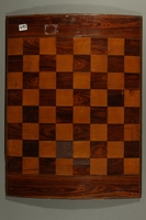 2016.184.544 back 2 sided gameboard for chess and the antisemitic Game of the Jew  Click to enlarge