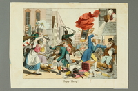 2016.184.545 front Print depiction of townspeople and soldiers attacking Jews  Click to enlarge