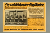 2016.184.548 front Nazi poster on the need to destroy the US-Jewish conspiracy to rule the world  Click to enlarge