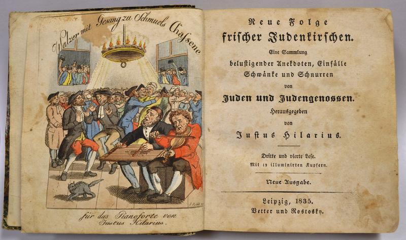 Neue Folge frischer Judenkirschen: eine Sammlung belustigender Anekdoten, Einfälle, Schwänke und Schnurren von Juden und Judengenossen