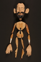 2016.184.617 front Wood marionette  Click to enlarge