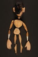 2016.184.617 back Wood marionette  Click to enlarge