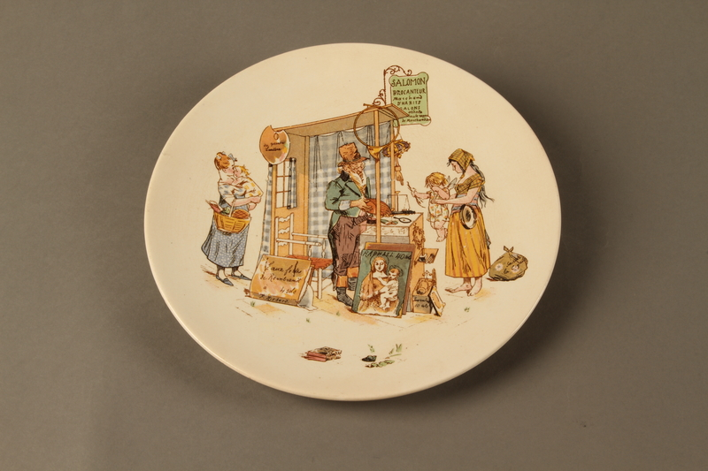 2016.184.621 front Porcelain plate