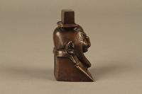 2016.184.623 right Bronze figurine in the shape of a Jewish man's head  Click to enlarge