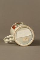 2016.184.630 bottom Staffordshire pearlware mug, 3rd Mendoza v Humphreys bout  Click to enlarge