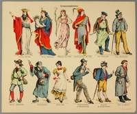 2016.184.654 front Print from a play theater kit of characters from a comic opera  Click to enlarge