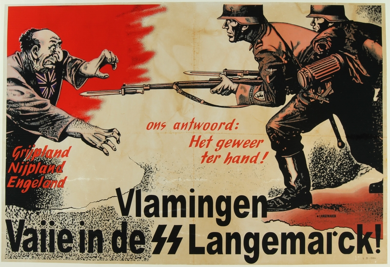2016.184.661 front Flemish SS Sturm Brigade recruitment poster