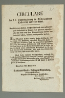 2016.184.710 front German edict of 1846 regulating the Jewish population  Click to enlarge