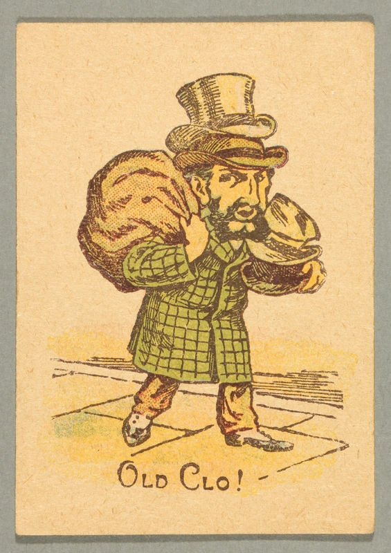 2016.184.711 aa front Cries of London Snap playing cards and box with images of street peddlers