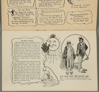 2016.184.717 page 2 Postcard illustrating Jewish stereotypes  Click to enlarge