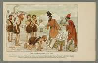 2016.184.734 front Postcard of Jewish peddlers with 'primitive' Phoenicians  Click to enlarge