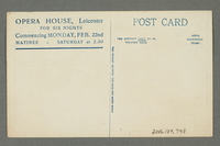 2016.184.748 back Unused postcard for comedy act Potash and Perlmutter  Click to enlarge