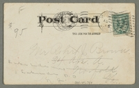 2016.184.759 back Inscribed postcard of a smiling Jewish man smoking a cigar  Click to enlarge
