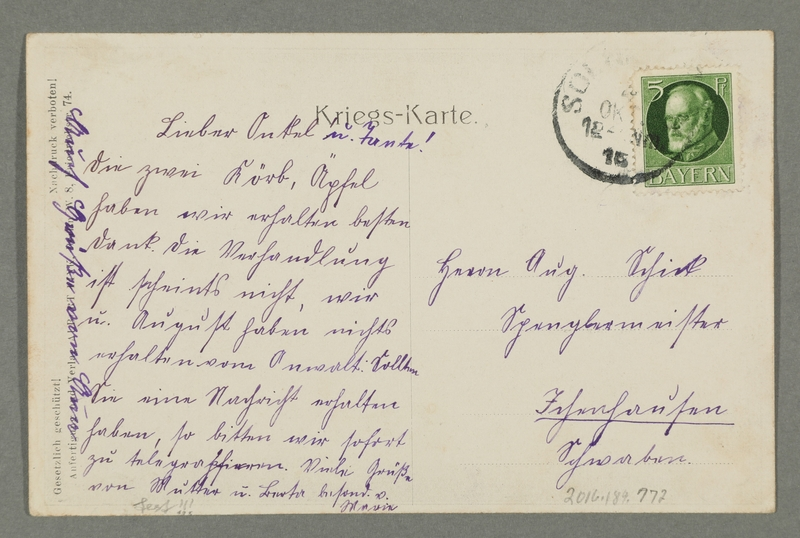 2016.184.772_back Inscribed postcard of a begging Russian official