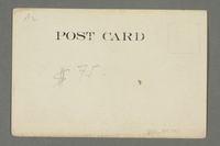 2016.184.775 back Postcard of an aroused man in a nightshirt  Click to enlarge