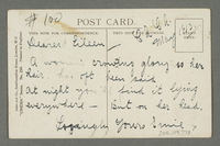 2016.184.778 back Inscribed postcard with a Jewish cartoon  Click to enlarge