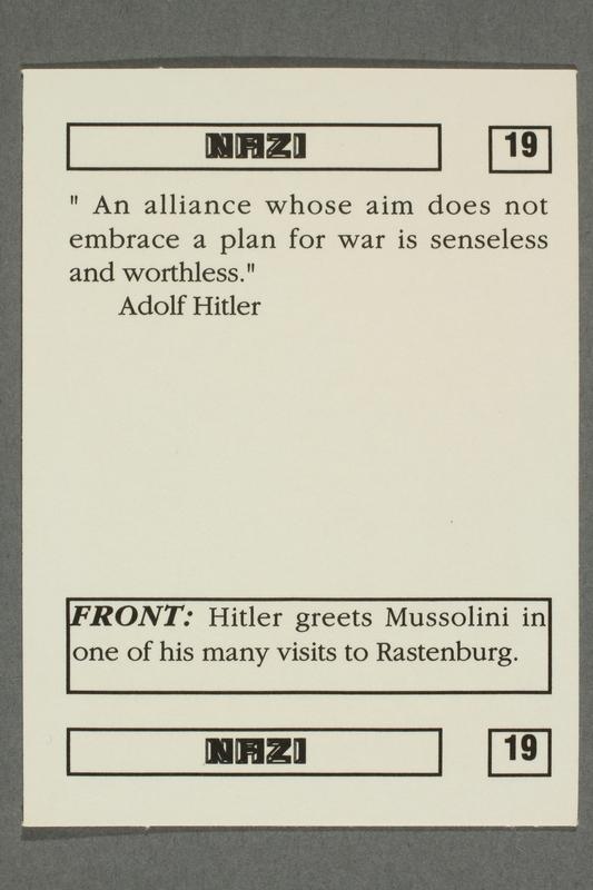 2016.184.801 u back Boxed set of Nazi playing cards
