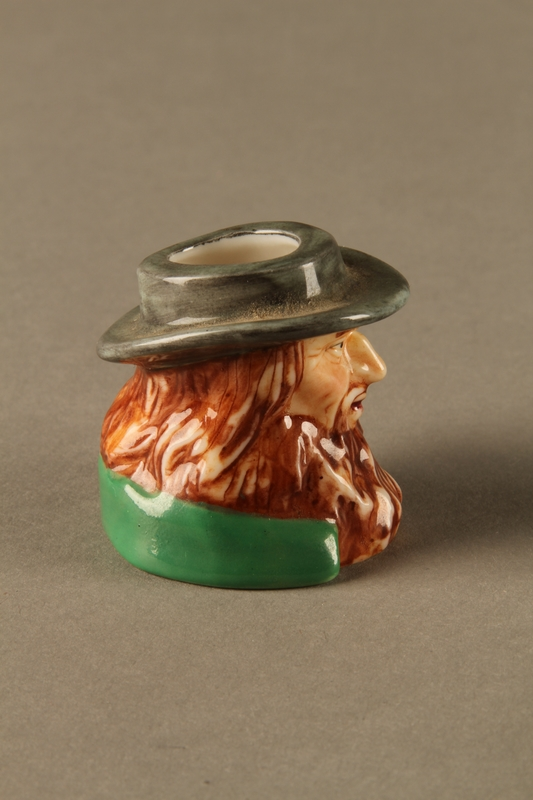 2016.184.263 right side Porcelain match holder resembling Fagin