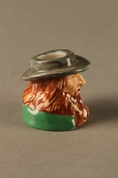 2016.184.263 right side Porcelain match holder resembling Fagin  Click to enlarge