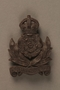 Intelligence Corps cap badge worn by a British soldier and Kindertransport refugee