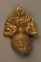 Royal Fusiliers cap badge worn by a British soldier and Kindertransport refugee