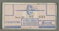 2016.184.824 back Westerbork transit camp voucher, 10 cent note  Click to enlarge