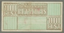 Westerbork transit camp voucher, 100 cent note