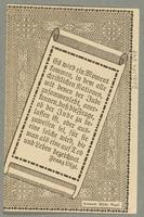 2016.184.848_back German-Austrian League of Anti-Semites, 20 heller donation receipt  Click to enlarge