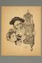 Arthur Szyk print of a Jewish family with a Torah scroll