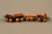 2016.251.2 right Miniature wooden train  Click to enlarge