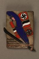 2016.380.1 front Deutscher Ski Verein pin  Click to enlarge