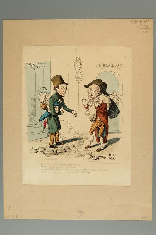 2016.288.4 front Caricature of Baron de Rothschild