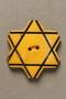 Bulgarian Jewish star button