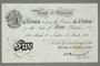 Operation Bernhard counterfeit British 5 pound note