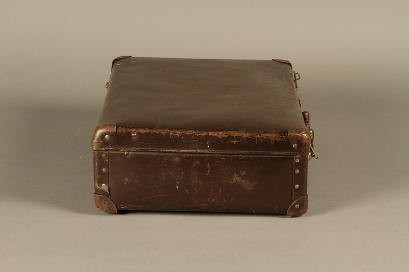 2016.352.2 right Suitcase used by German Jewish refugees