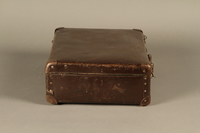 2016.352.2 right Suitcase used by German Jewish refugees  Click to enlarge