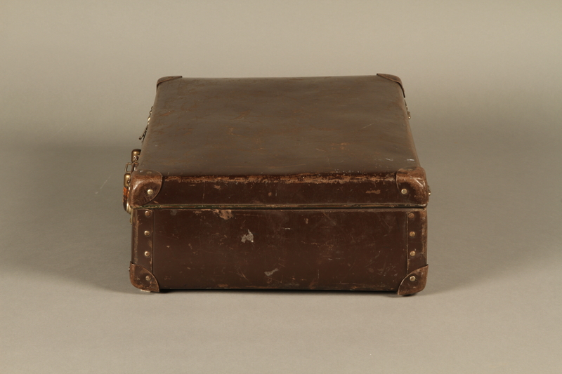 2016.352.2 left Suitcase used by German Jewish refugees