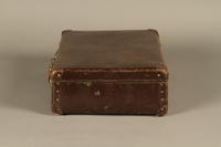 2016.352.2 left Suitcase used by German Jewish refugees  Click to enlarge