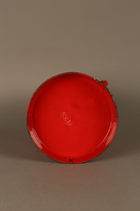 2016.372.2 bottom Red metal pot