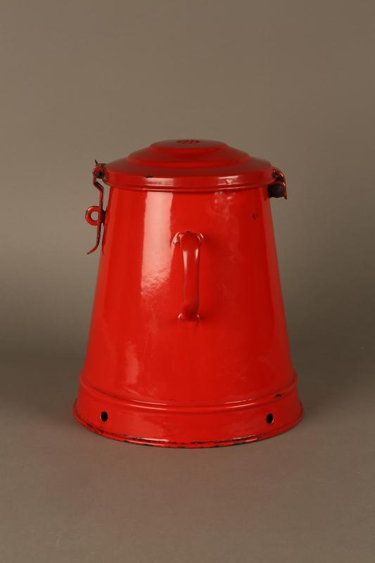 2016.372.2 left side Red metal pot