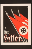 2015.562.15 front Only Hitler poster  Click to enlarge