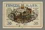 Weimar Germany, 50 mark note