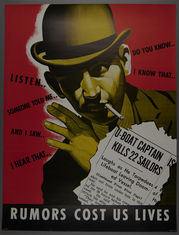 2015.562.18 font US careless talk kills sailors poster