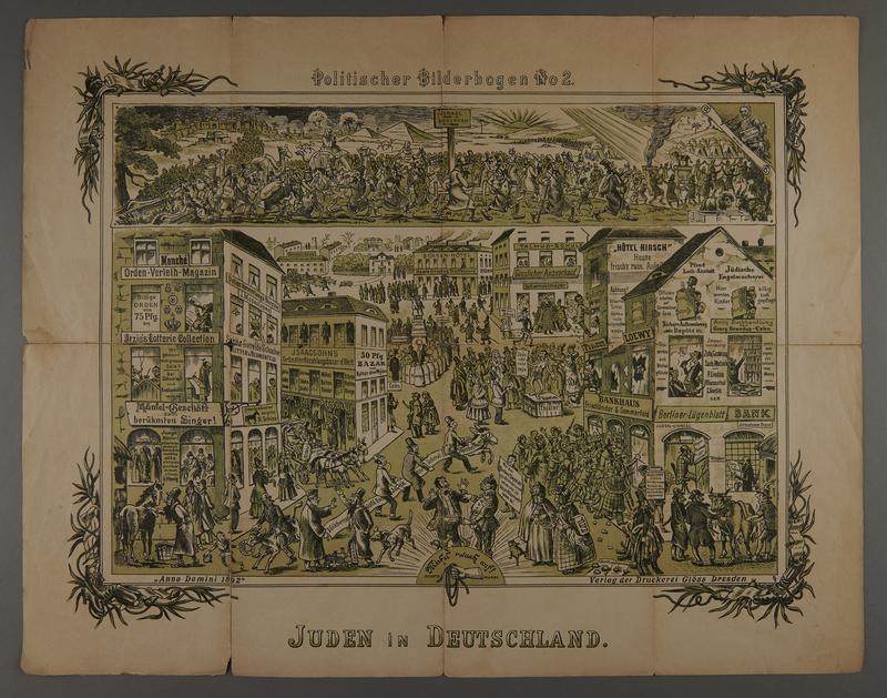 2016.184.716.2 front 19 posters from the series Politischer Bilderbogen