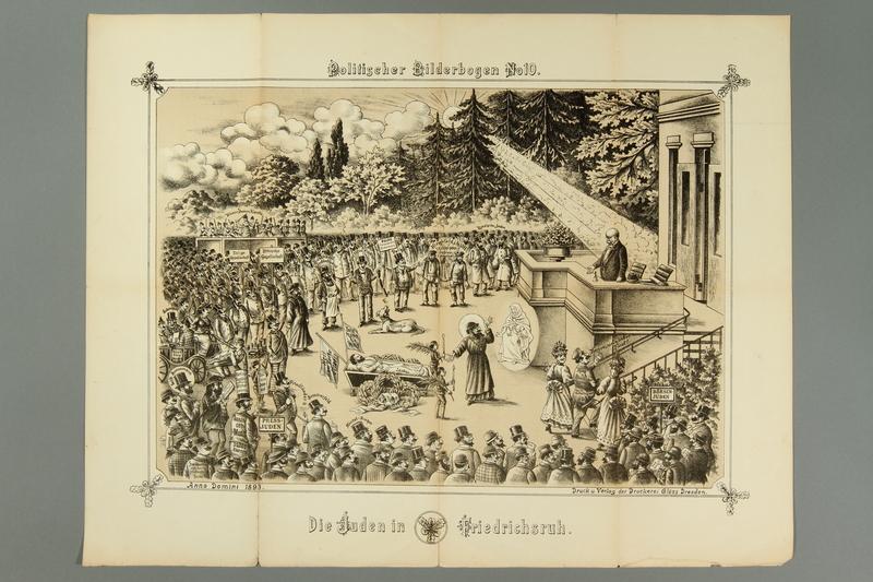 2016.184.716.10 front 19 posters from the series Politischer Bilderbogen