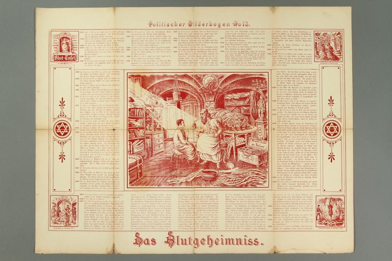 2016.184.716.13 front 19 posters from the series Politischer Bilderbogen