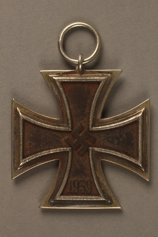 2011.455.1 front World War II Iron Cross