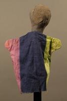 2017.213.6 back Bird head hand puppet created by a German Jewish Holocaust survivor and World War II veteran  Click to enlarge