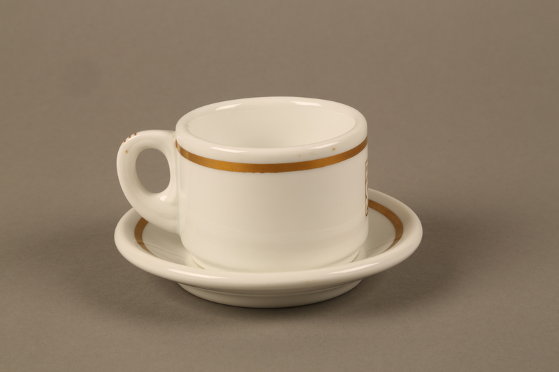 2017.259.2_a-b back Cup and saucer from a café run by Jewish Austrian family